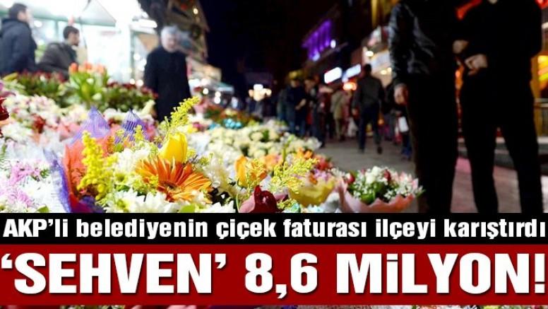 AKP'li belediye 1 yılda 8.6 milyonluk çiçek almış! 'Sehven' iddiası…