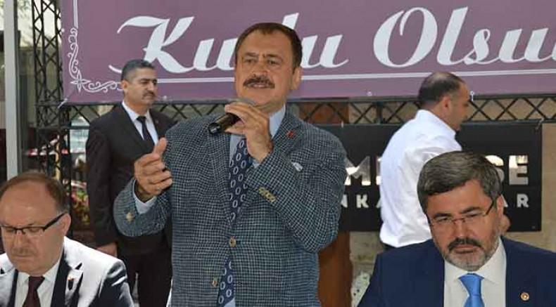 AKP'li Eroğlu: CHP'nin İstanbul adayının ismini bile bilmiyorum