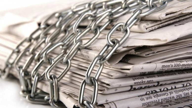 Basın Özgürlüğü Endeksi'nde Türkiye 180 ülke içinde 157'nci sırada