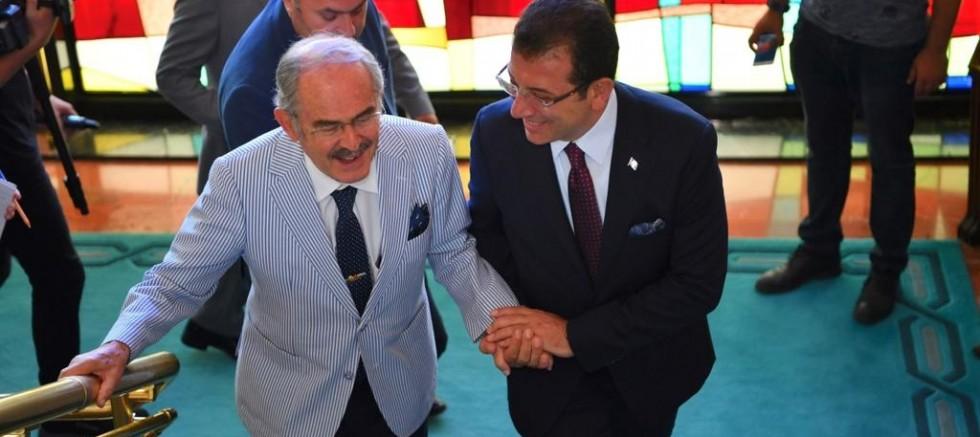 Başkan Büyükerşen'den İmamoğlu'na tebrik ziyareti