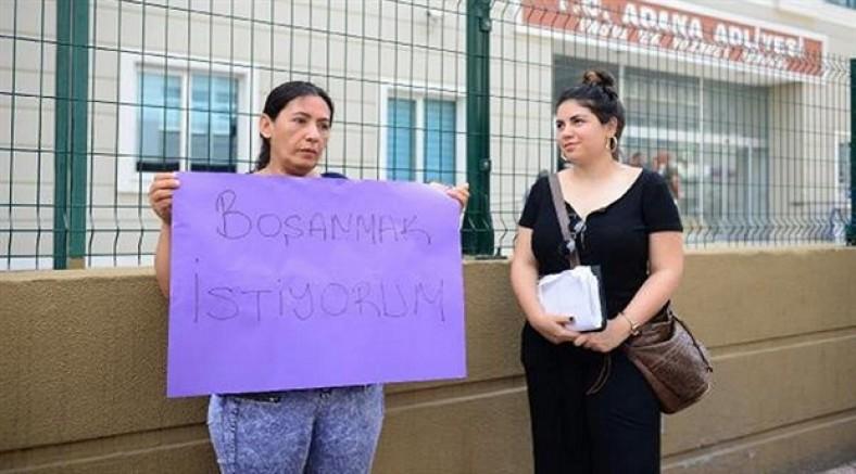 Eşinden boşanmak için 5 yıldır mücadele eden Meryem Karalök tutuklandı