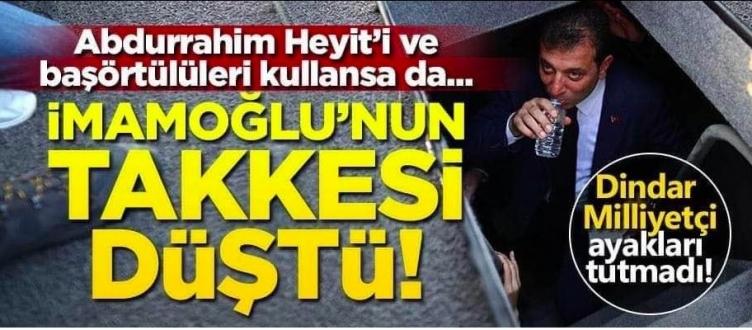 Fotoğrafın Ramazan ayında gizlice su içen Ekrem İmamoğlu'nu gösterdiği iddiası