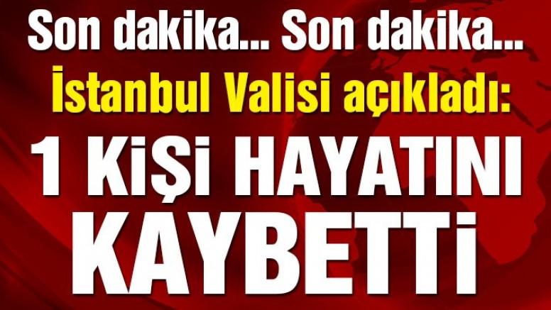 Son dakika… İstanbul'da sel nedeniyle 1 kişi hayatını kaybetti!